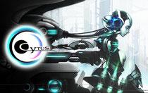 音樂遊戲Cytus。