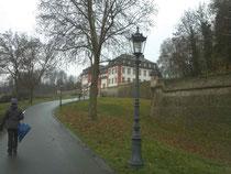 Zitadelle über Mainz