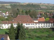 Das Schloss von oben