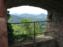 Blick aus dem Fenster nach Westen