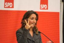 Aydan Özoguz kandidiert für die SPD in Wandsbek