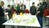Selber gestalten beim Workshop der SPD Bezirksfraktion.