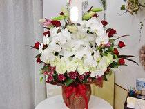 襲名のお祝いのお花