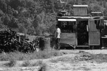 Wellblech-Raststätten laden zum Verweilen ein