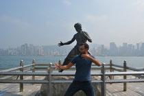 Bruce und ich hauen'se alle wech ... Wooiiiaaahh .. :-)
