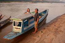 Unser smarter Kapitän macht das Boot klar für unsere Sunset-Tour