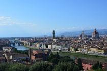 Toller Ausblick von der Piazzale Michelangelo