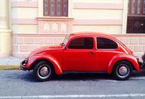 Alte Käfer gibt es in Mexiko mehr als Sterne am Himmel - VW lässt in Puebla Seit 1967 diverse Modelle produzieren und beschäftigt nahezu 15.000 Mitarbeiter