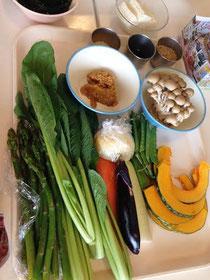 いろとりどりの季節のお野菜