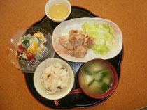 この日の昼食完成!
