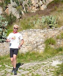 Berglauf auf Sizilien