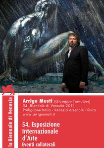 In foto: Arrigo Musti - Pittore internazionale 54° Biennale di Venezia 2011