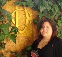 Elisa Martorana nelle Sale di Vicolo Valdina a Montecitorio in Roma
