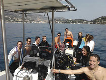 Bateau de plongée Haizea
