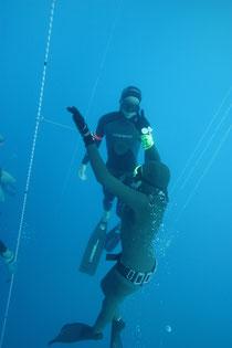 free diving cap ferrat