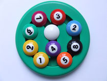 Billiards 9 Ball puzzle