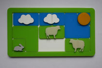 Clouds and Sheeps