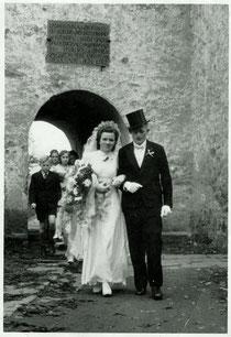 Hochzeit Heinrich u. Gerda Behler