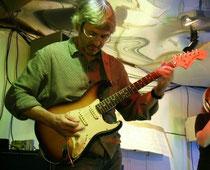 Session mit Betaplan 27.12.2007, 72er Fender Stratocaster