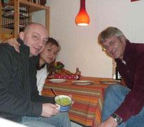 Sylvester bei Thomas und Ana Paula in Hamburg