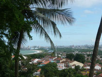 Altstadt von Olinda - im Hintergrund Recife