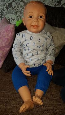 Toddler Tragepuppe Sven ist eingezogen
