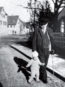 H. Herrmann und Josef Herrmann, Anfang 1936,  Foto: privat, alle Rechte vorbehalten