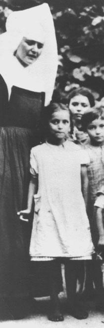 Angela W. geborene Reinhardt, Foto: Dokumentations- und Kulturzentrum Deutscher Sinti und Roma, Heidelberg, alle Rechte vorbehalten!