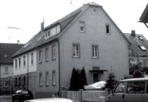 Katharinenstra 2: Im Erdgeschoss wohnte Anna Frank bis September 1941, aus WERNER 1998, S. 50