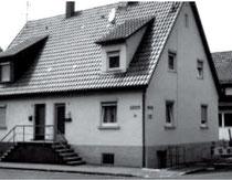 Schmiedstraße 15 (rechte Haushälfte), Ende der 90er-Jahre, Foto: M. Werner
