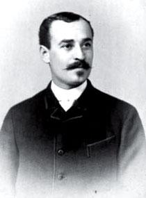 Abraham Landauer, um 1890, aus WERNER 1998, S. 105