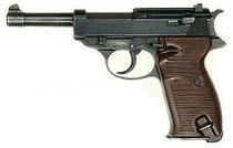 Walther P38, Standardpistole der Werhmacht 1945, public domain