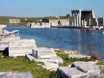 Ruinas de la ciudad de Mileto
