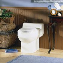 バイオトイレの世界基準・エンバイオレット 水なし・コンポストユニット別置バイオトイレ WRSタイプ