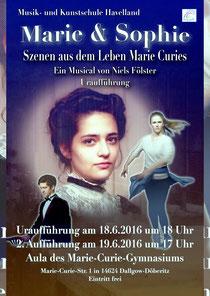 "Plakat ""Marie & Sophie"""