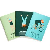ロンドンオリンピックのミニノートブック