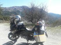 Die Route Napolen noch 60 km bis zum Mittelmeer!