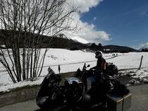 An diesem Tag ging es Richtung Grenoble zur Route Napoleon
