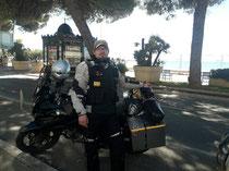 Geschafft! Cannes am Mittelmeer