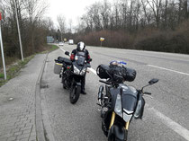 Kurzer Stopp in Rastatt