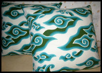 Textiil Pillows, Batik Mega Mendung