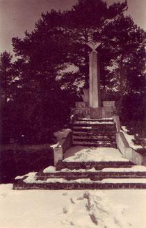 Das polnische Denkmal. Foto: Helmut Glas, nicht datiert.