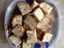 パンを作りました