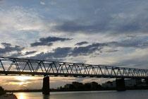多摩川と空・・・
