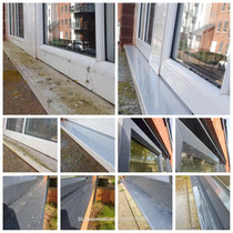 Residential window cleaning includes the frames, sills and doors!