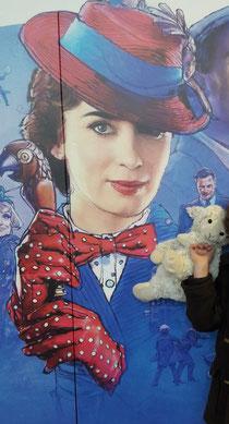 Marie poppins et doudou invité surprise!