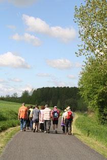 Randonnées pédestres en Vallées de la Braye et de l'Anille - Perche Sarthois