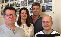 Die vier Gesellschafter der Bäckerei Göpfert GmbH & Co KG: Matthias, Anja und Uwe Göpfert sowie Christian Beyer (von links), der seit Jahresbeginn als geschäftsführender Gesellschafter fungiert. Foto: Jens Hamann