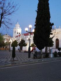 Start in Villafranca de los Barroso  7 Uhr