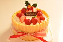王道!クリスマスケーキ